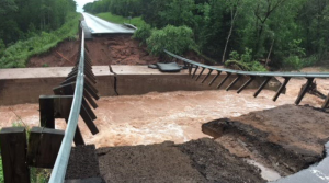 Read full article: Flash Flooding Closes, Washes Out Roads In Northern Wisconsin
