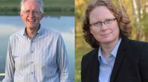 Brian Ewert and Margaret Engebretson