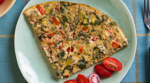 Read full article: Green Vegetable Egg Tortilla