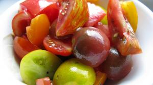 Read full article: Heirloom Tomato and Herb Salad