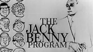 graphic from the Jack Benny radio program