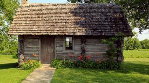 Laura Ingalls Wilder's home near Pepin, Wisconsin