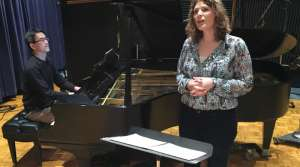 Photo of Singer Saira Frank and Pianist Vincent Fuh