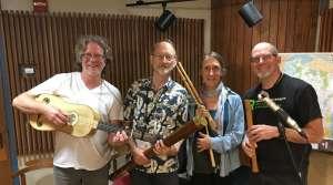 Paul Rowe and members of Piffaro