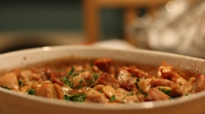 Read full article: Spinach and Chicken Tortilla Casserole