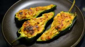 Read full article: Chicken-Stuffed Poblano Peppers