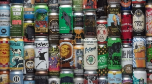 Canned craft beer was rare until the early 2010s