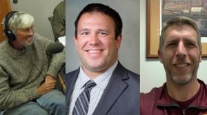 Joe Knight, Joshua Balts, and Jess Carstens