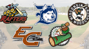 Wisconsin's Northwoods League Baseball Team logos