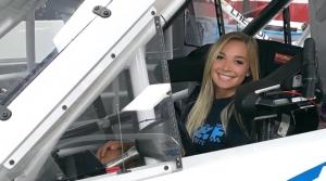 NASCAR driver Natalie Decker