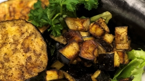Read full article: Zaatar Roasted Eggplant