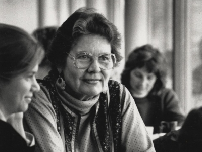 Ada Deer,UW-Madison professor of social work with students