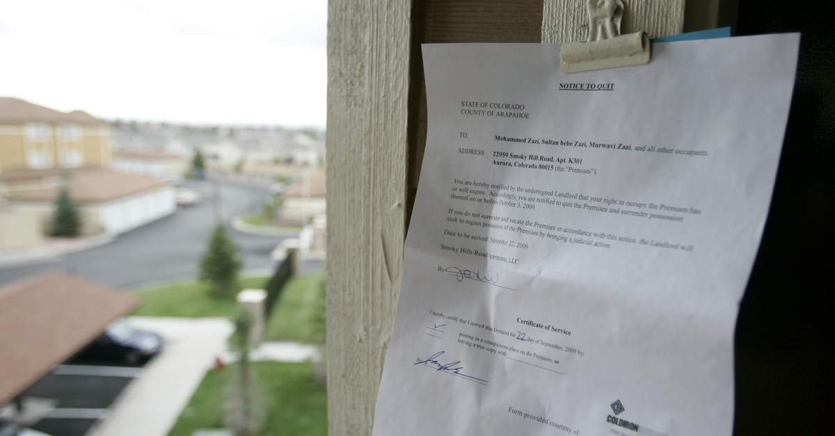 Federal Eviction Moratorium Extended Through March