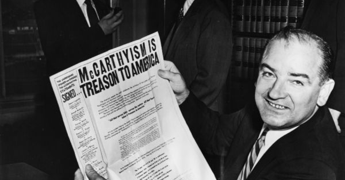 Sen. Joe McCarthy Makes First Accusations This Week In 1950 | Wisconsin Public Radio