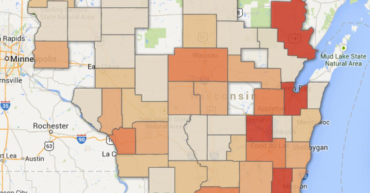 See Where In Wisconsin The State Crime Lab Has Processed