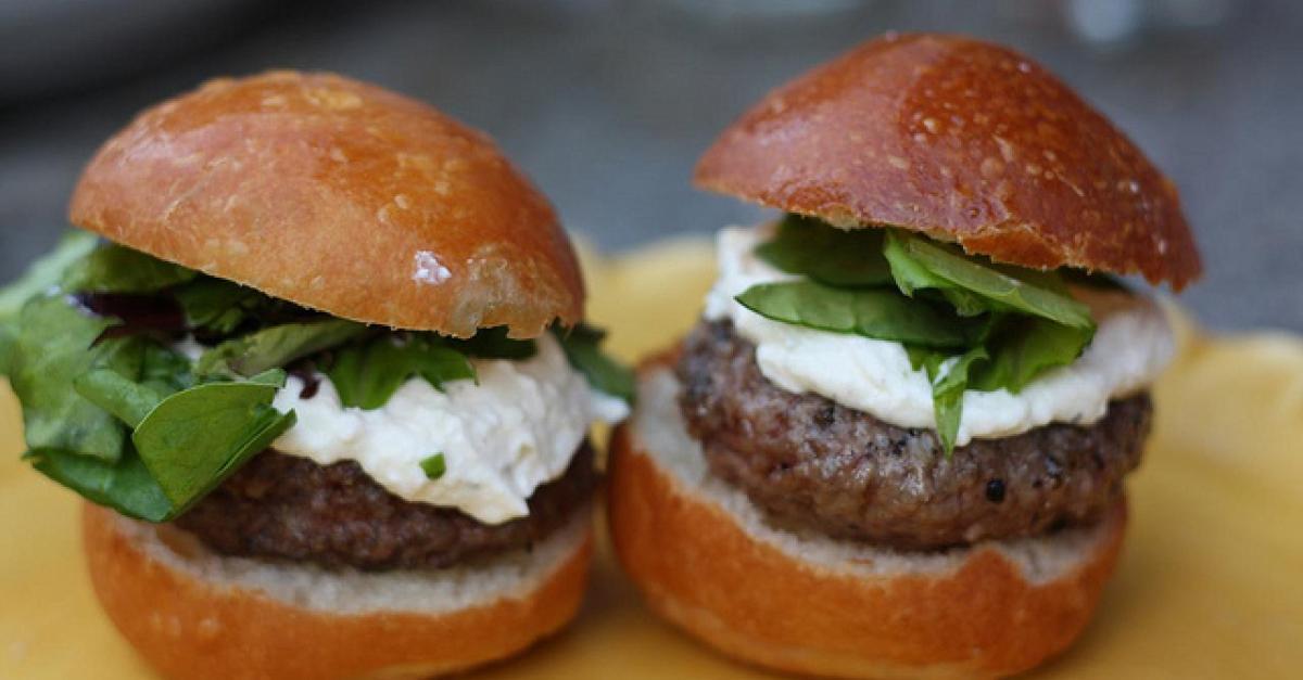Mushroom Gorgonzola Turkey Burgers Wisconsin Public Radio