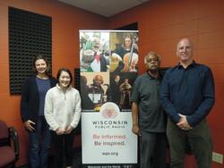 Rebecca Schwarz, Maggie Xiong, Thomas Harris and Pat Lunney