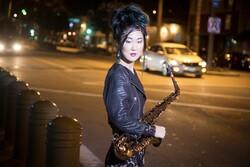 Saxophonist Grace Kelly