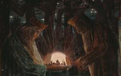 Kings' Fairy Tale, 1909, by Mikalojus Konstantinas Čiurlionis