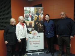 Mary Nugent, Julie Nelson, Anthony Chergosky and Sam Scinta