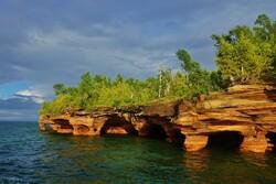 Devil's Island in the Apostle Islands