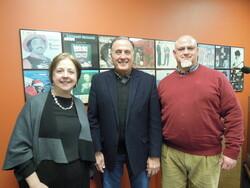 Kathleen Bartzen Culver, Lee Rasch and Sam Schinta