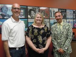 Kevin Strangman, Jerolyn Grandall and Josh Bonnell