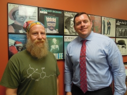 Tim Murphy and State Sen. Patrick Testin