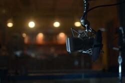 mic in radio studio