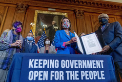 Continuing resolution to keep the government open