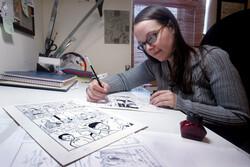 Cartoonist Raina Telgemeier