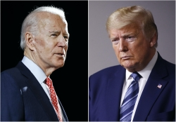 Photo of Joe Biden and Donald Trump