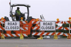 Road Construction Infrastructure Highway Funding Closed