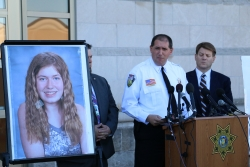 Barron County Sheriff Chris Fitzgerald, Jayme Closs