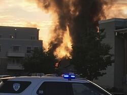 Smoke from Sun Prairie explosion