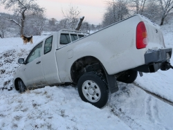 winter auto accident