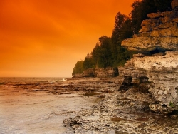 Cave Point, Door County