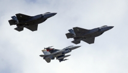 F-16, F-35, Fighter Jets, United States Air Force