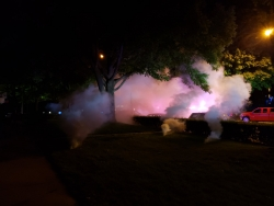 Police in Madison deployed tear gas Sunday night after clashes with protesters