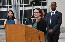 Wausau Mayor Katie Rosenberg