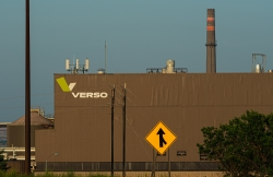 The Verso Corporation paper mill in Duluth, Minnesota.