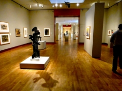 A look inside Chazen Art Museum.