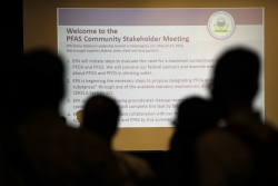 Community attends PFAS meeting