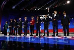 Democratic candidates for president at September 12 debate