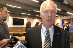 Sen. Ron Johnson in Madison