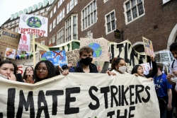 Children raise awareness of climate change
