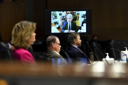Dr. Anthony Fauci testifies in a Senate hearing