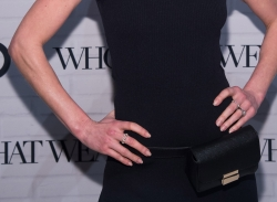 Actress and model Kate Bosworth wears a belt bag