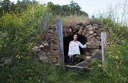 Photo of a Badger Hut