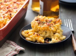 Beer Bacon Mac and Cheese